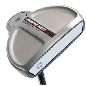 Odyssey Mens White Hot Pro 2.0 Right Hand 2-Ball Putter