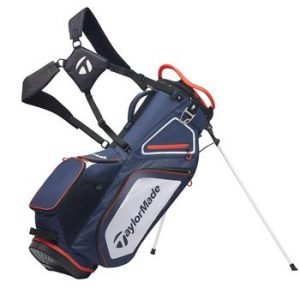 TaylorMade 8.0 Golf Stand Bag 2020 - Navy/White/Red