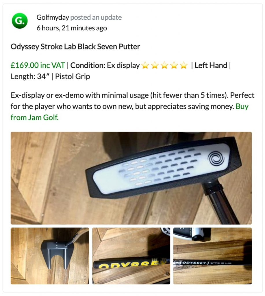 Quality Used Golf Clubs Channel Islands