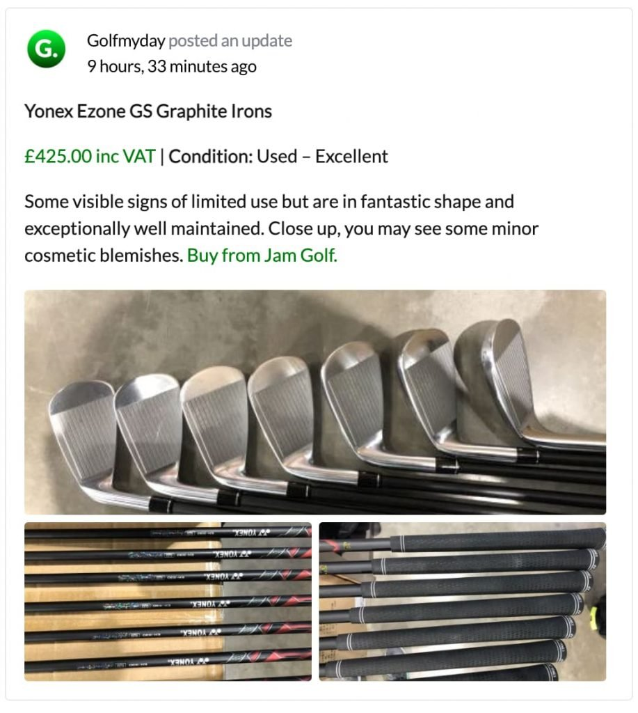 Quality Used Golf Clubs Guernsey