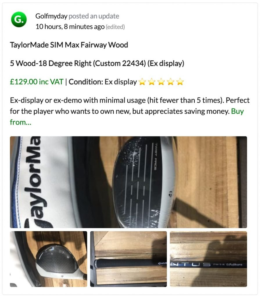 Quality Used Golf Clubs Jersey (1)