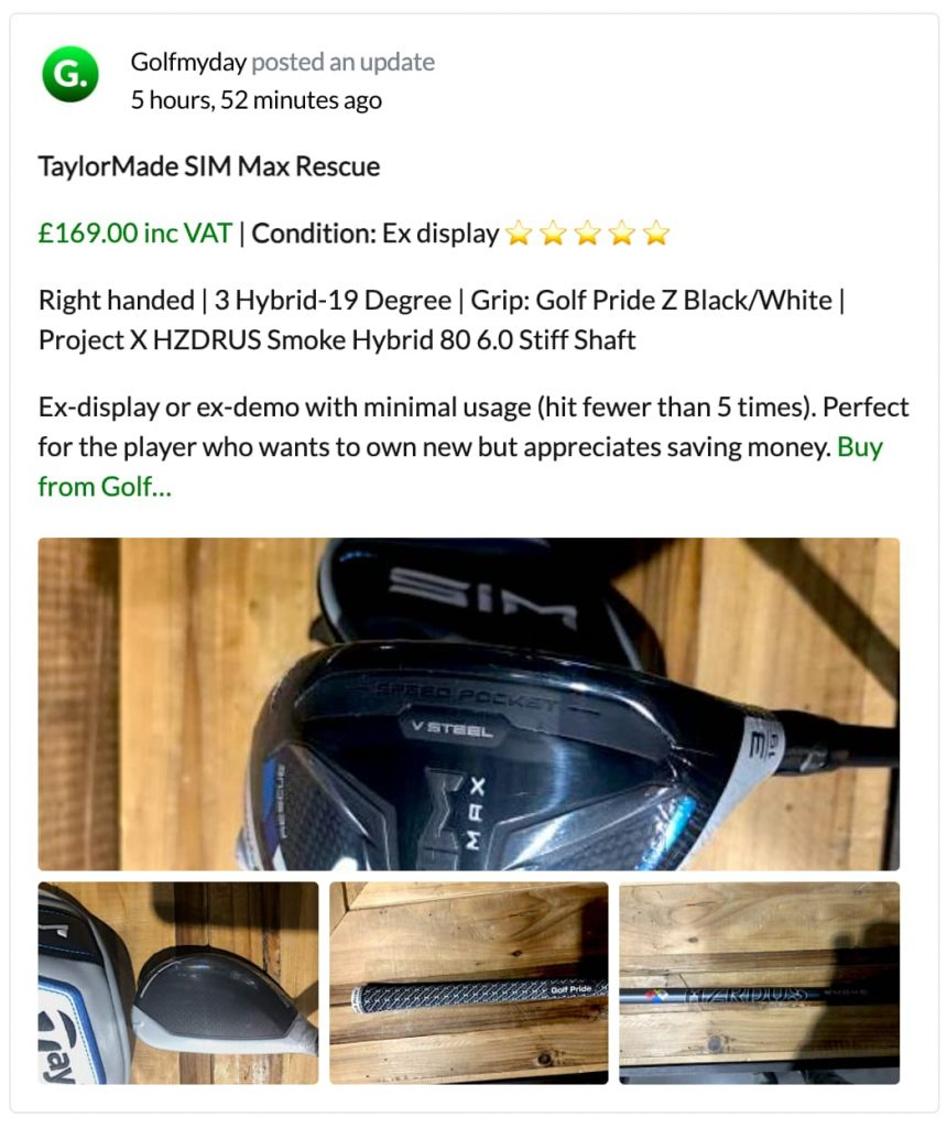 Quality Used Golf Clubs Wales