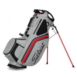 Titleist Hybrid 14 Golf Stand Bag - Grey/Red/Charcoal