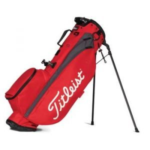 Titleist Players 4 Golf Stand Bag - Red/Graphite