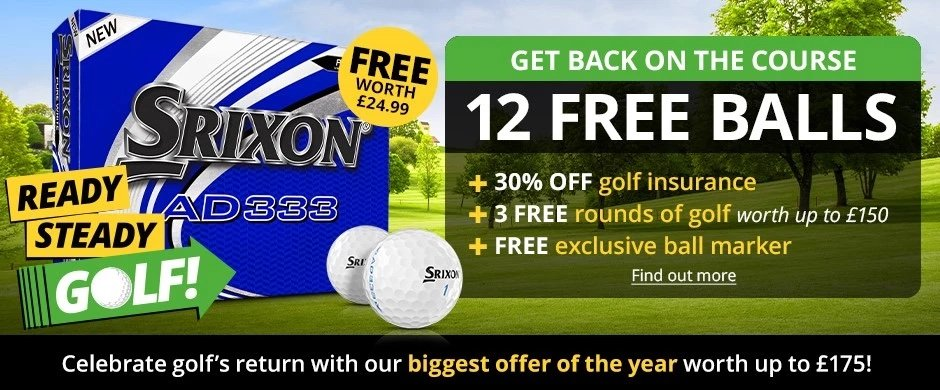 Golf Insurance discount special offer